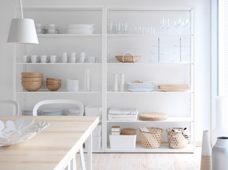 Estilo escandinavo decoraci n con madera y blanco - Muebles estilo escandinavo ...