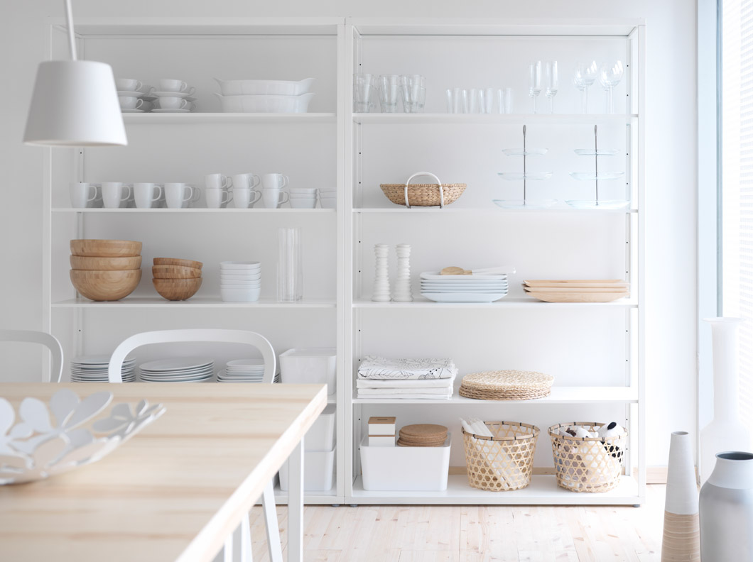 Estilo escandinavo decoraci n con madera y blanco blog - Salon nordico ikea ...