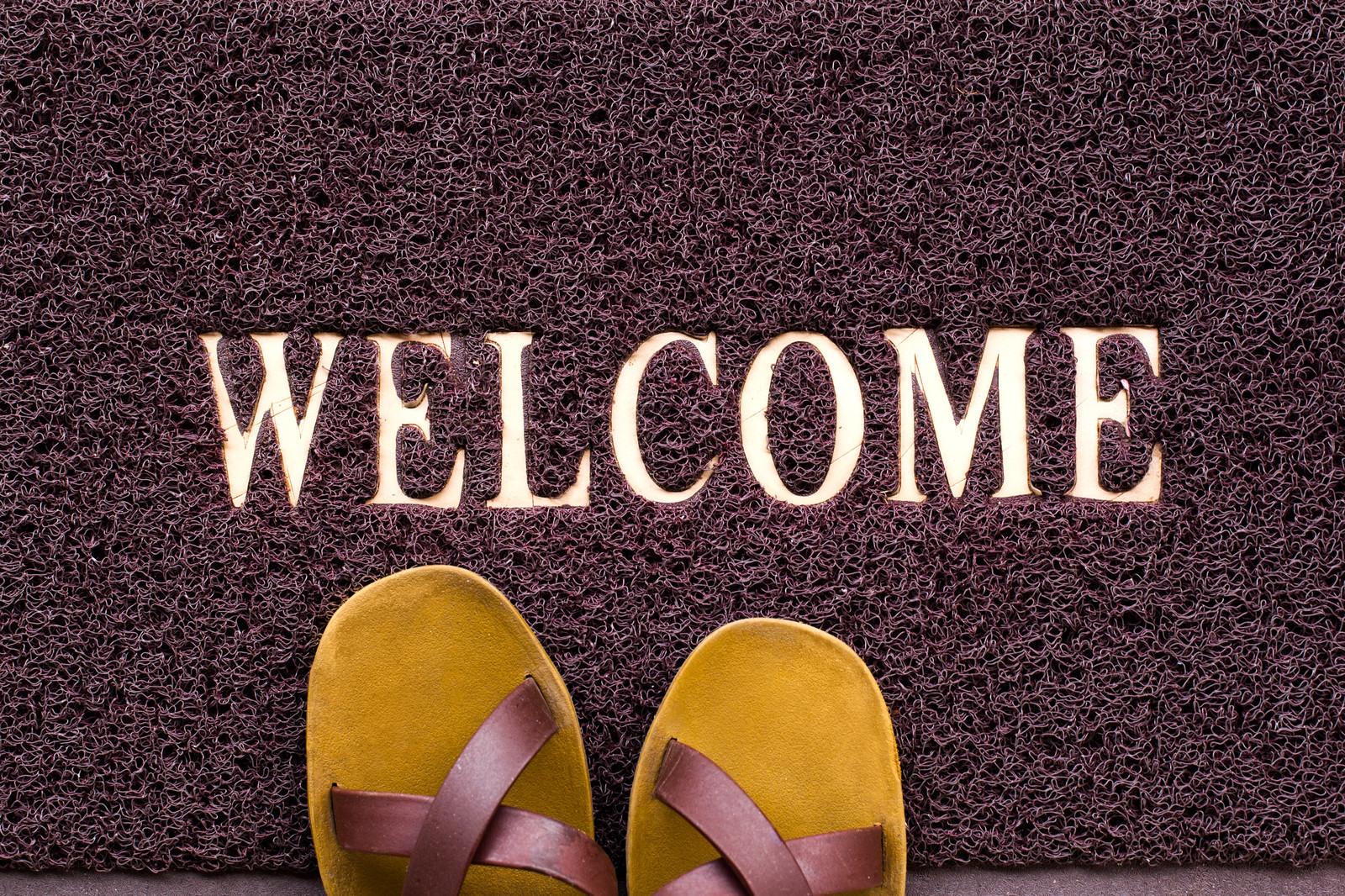 Dise a tu propio felpudo para la entrada de casa blog de dia - Felpudo entrada casa ...