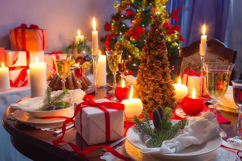 C mo decorar la mesa de navidad para que quede perfecta - La mesa de navidad ...
