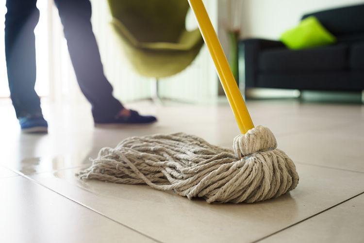 Como limpiar la fregona cheap sinland fregona giratoria - Como limpiar las baldosas de la cocina ...