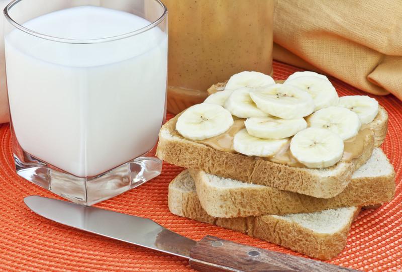 Sandwich de plátano