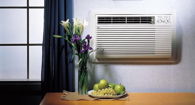 aire acondicionado para mantener la casa fresca
