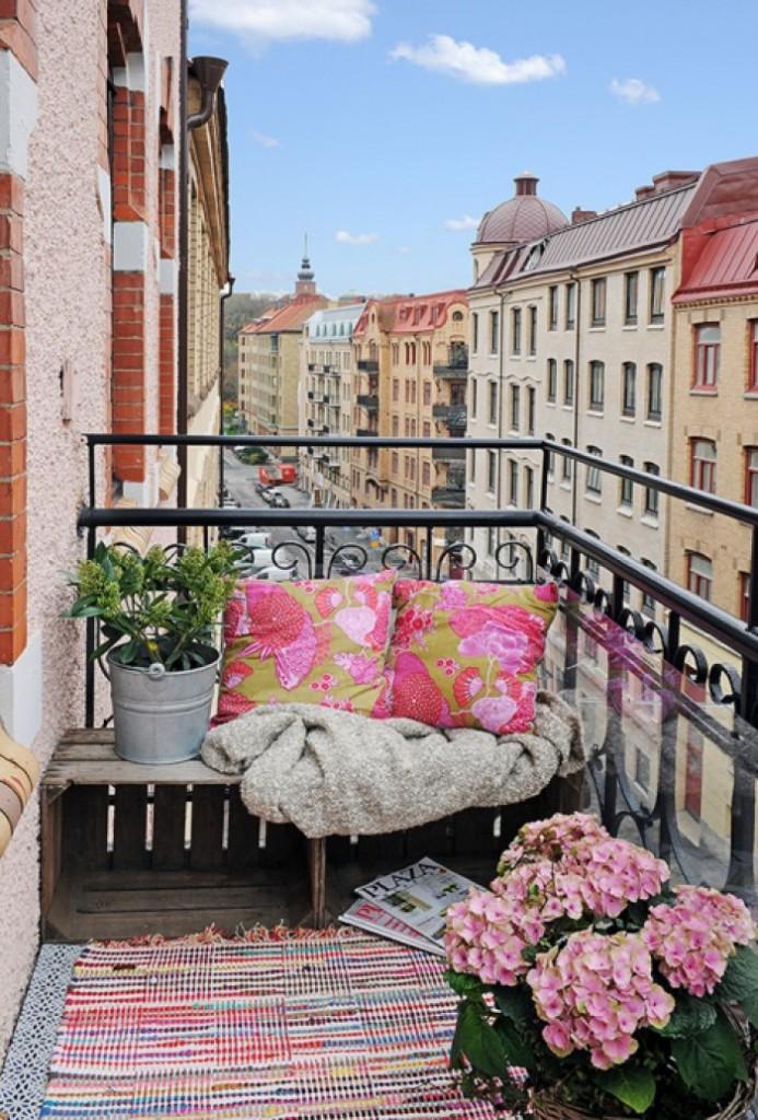 balcón chill out urbano