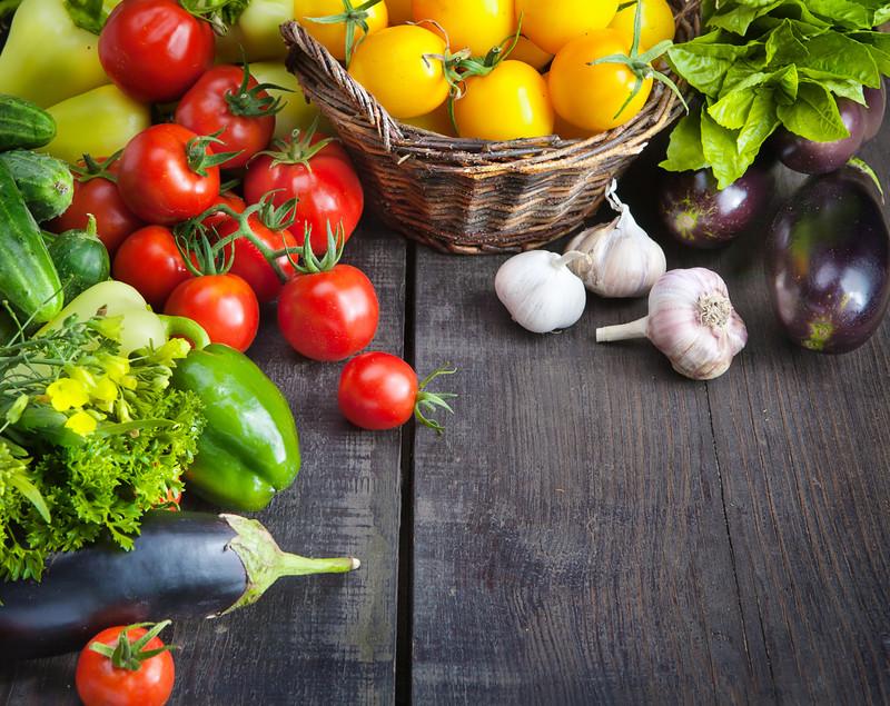 Hidratación en frutas y verduras