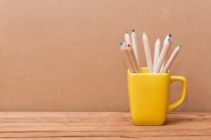 Organiza tu escritorio con objetos cotidianos