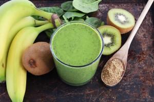Los zumos y batidos verdes más nutritivos