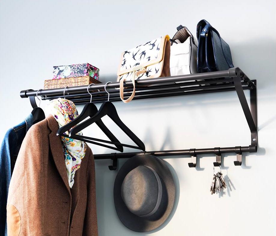 Fabrica percheros con objetos reciclados blog de dia for Perchas blancas ikea