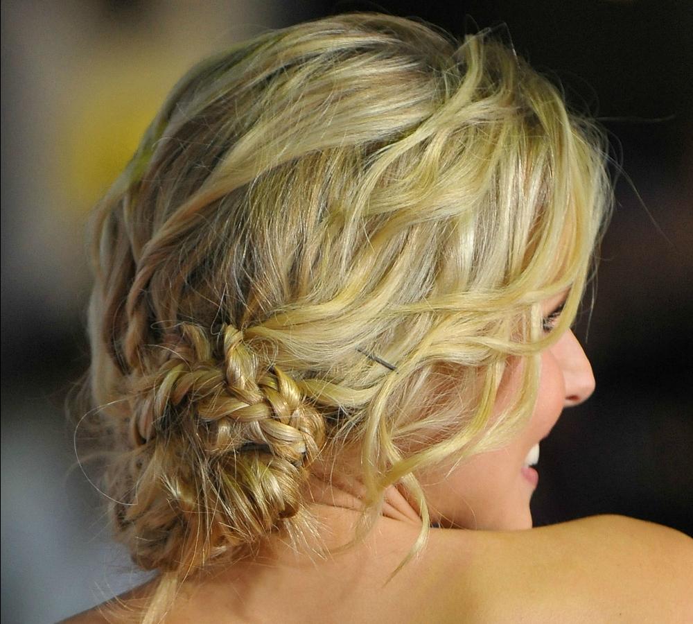 Peinados Con Trenzas Para Pelo Largo Blog De Dia - Peinados-informales-con-trenzas