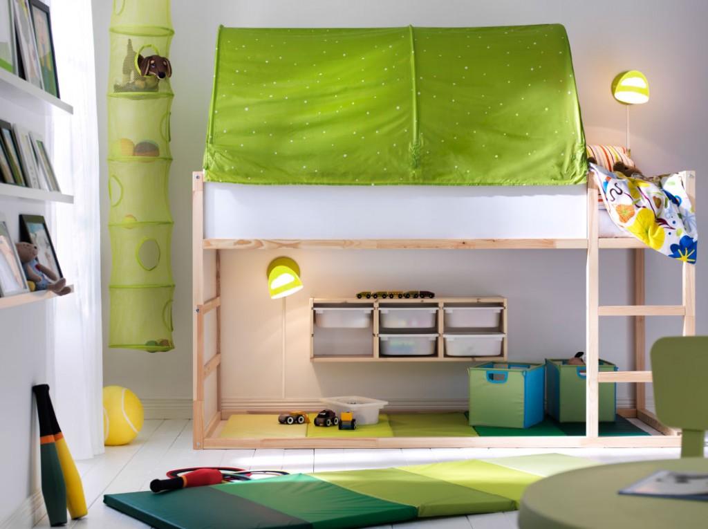 Gana espacio con una cama elevada blog de dia - Espacios de trabajo ikea ...
