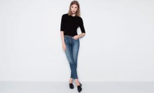 El estilo único de los pantalones de talle alto