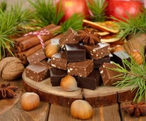Cómo hacer turrón de chocolate crujiente