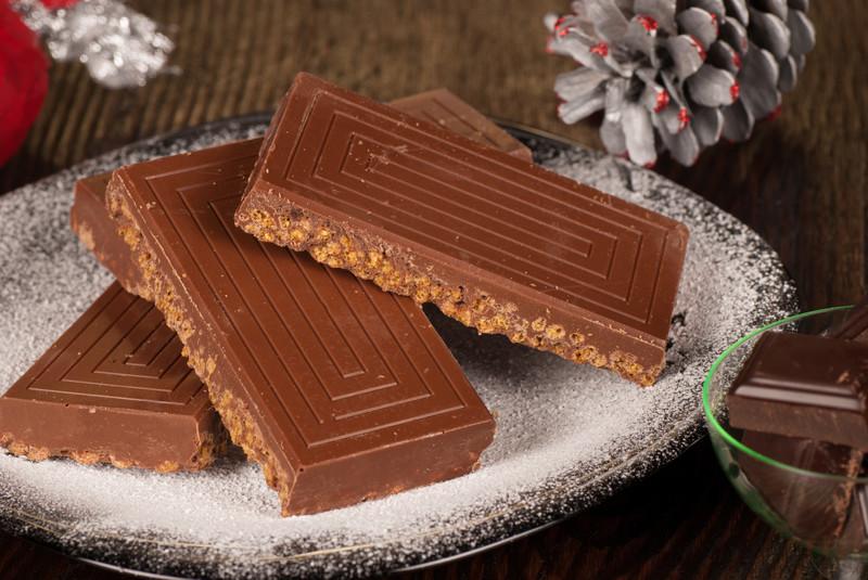 turron crujiente chocolate