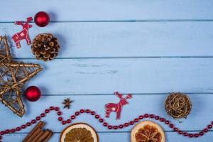 Una decoración navideña diferente