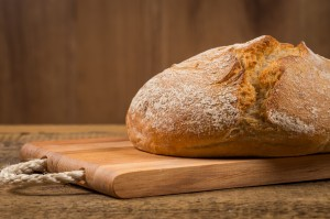 Receta de pan casero fácil, casi sin tocarlo