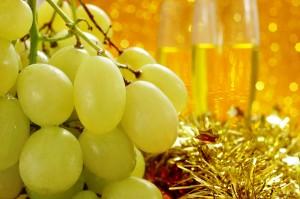 La tradición de las uvas de la suerte