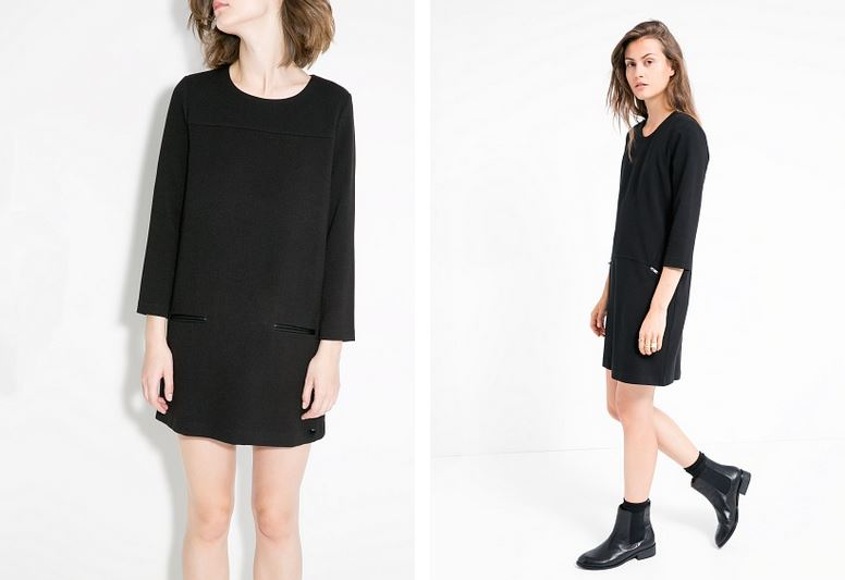 little black dress mango