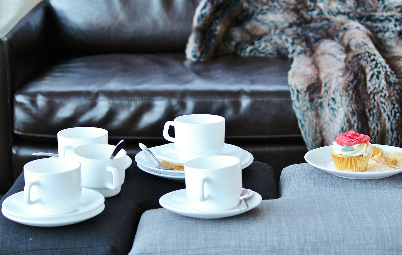 café sofá