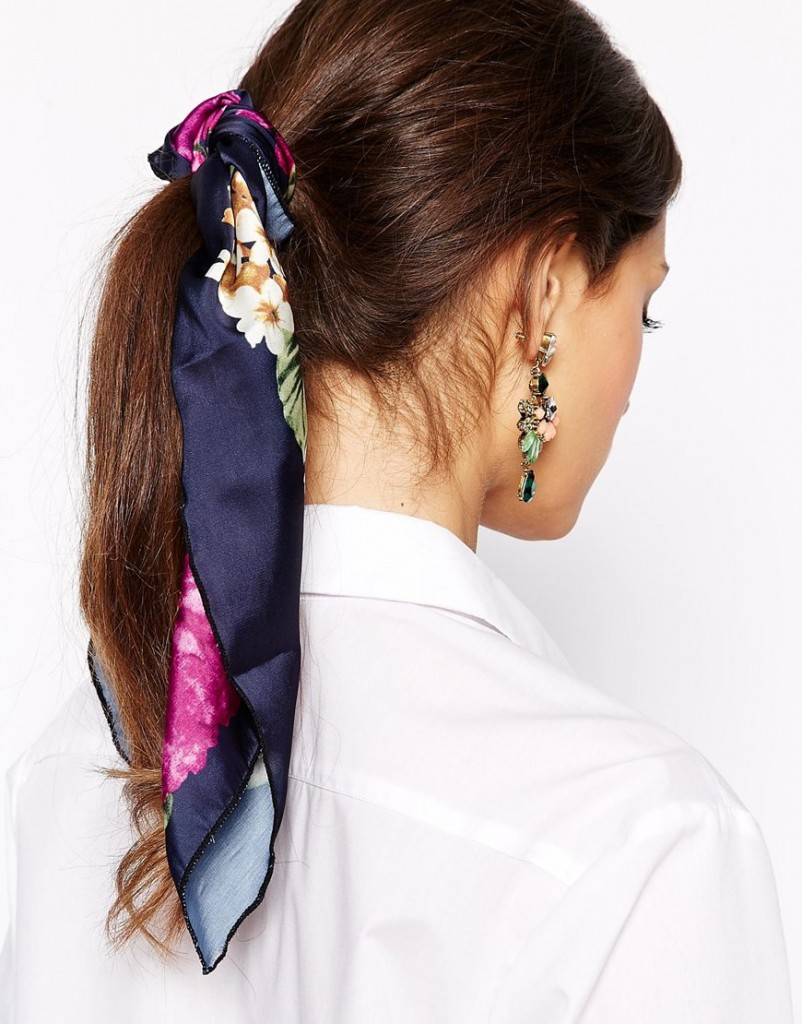 pañuelo floral