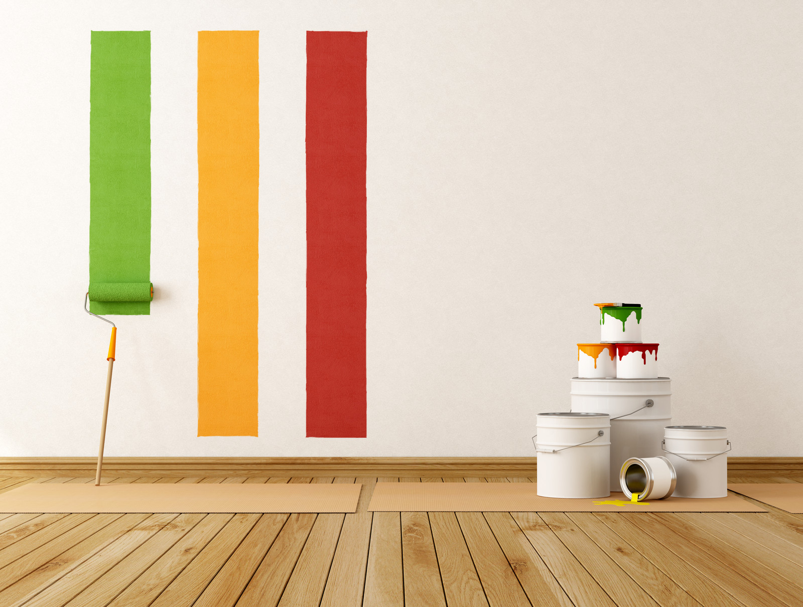Ventajas y consejos para pintar las paredes t mismo - Como pintar las paredes ...