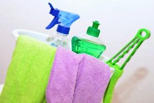 Trucos para desinfectar trapos y estropajos