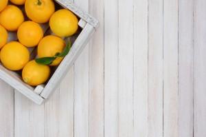 Cómo decorar con cajas de fruta recicladas