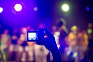 Consejos para hacer buenas fotografías en conciertos