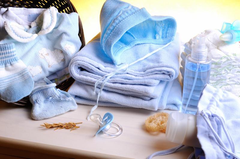Artículos de bebé durante la maternidad