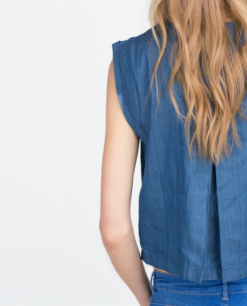 Camisa vaquera mujer