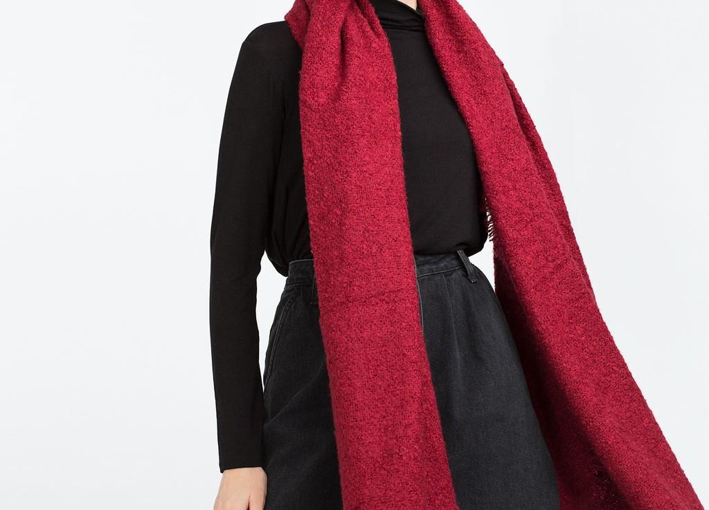 Accesorio bufanda largo
