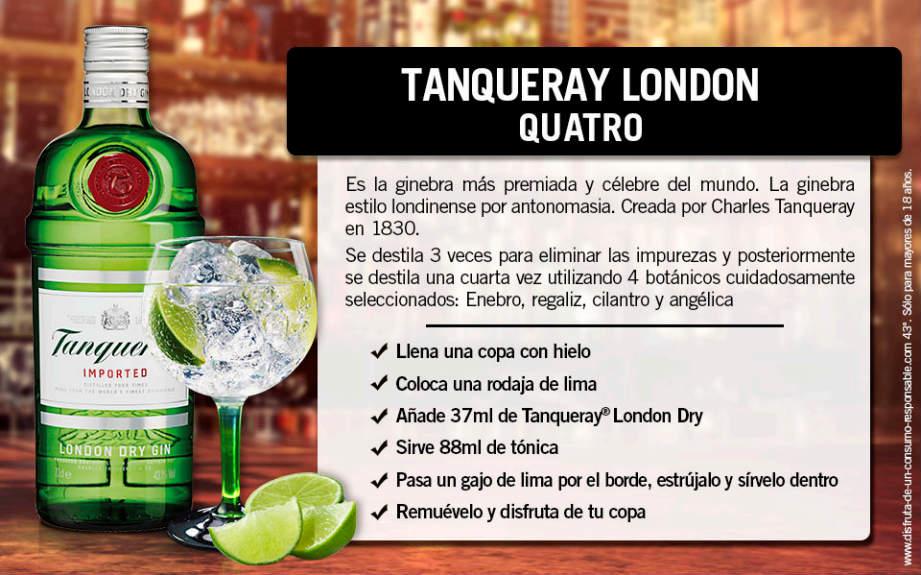 receta tanqueray