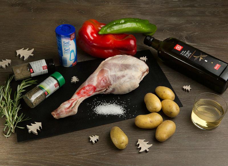ingredientes cabrito asado