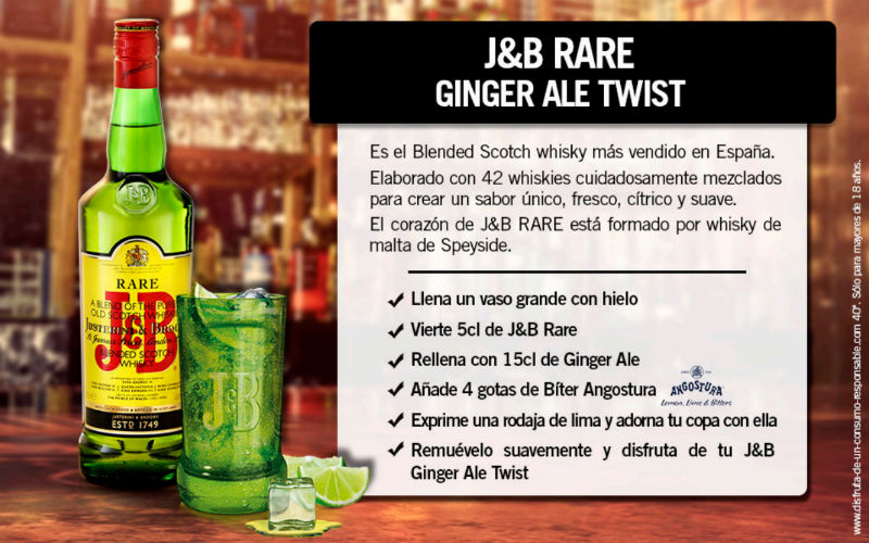 jb rare ginger ale twist