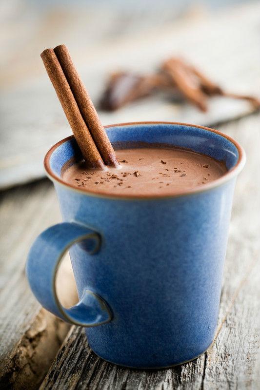 preparar chocolate caliente