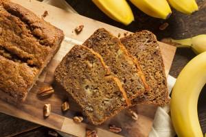 """Delicioso """"banana bread"""" o bizcocho de plátano"""