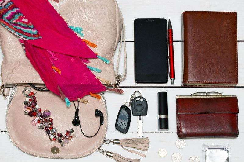 esenciales para el bolso de mano