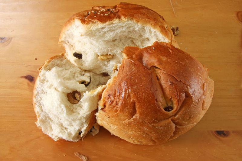 Pan con nueces sin gluten