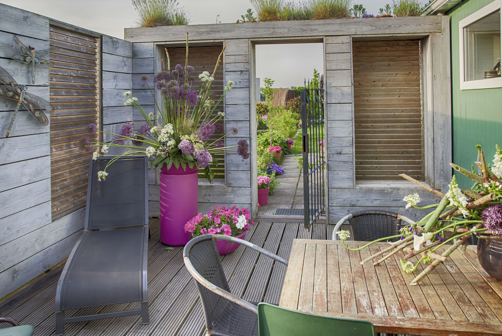 Ideas para decorar tu terraza blog de dia for Ideas para decorar una galeria cerrada