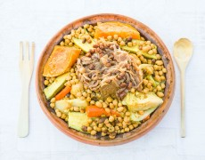cuscus tradicional marroquui