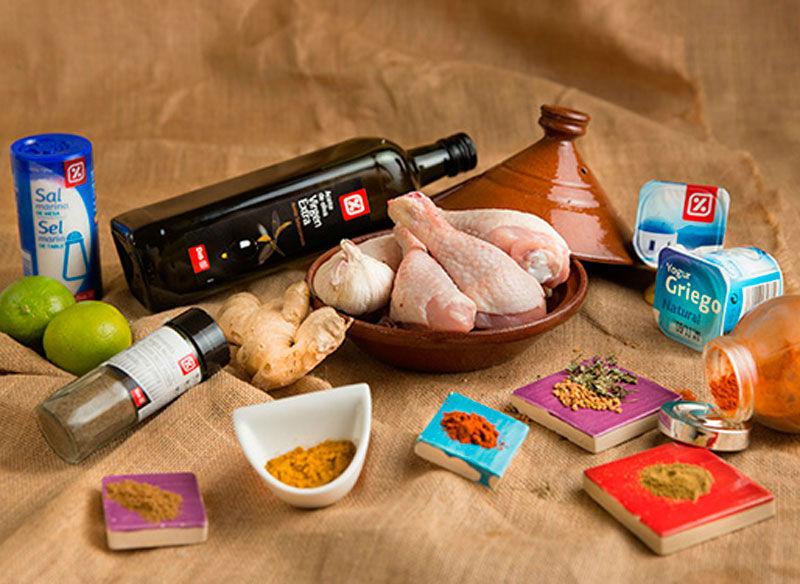 ingredientes Pollo tandoori