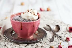 Cómo hacer mug cakes sin gluten