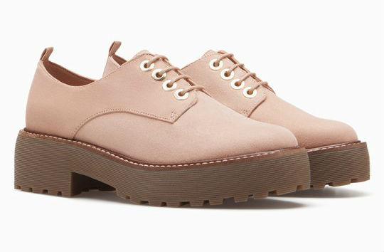 zapatos blucher claros