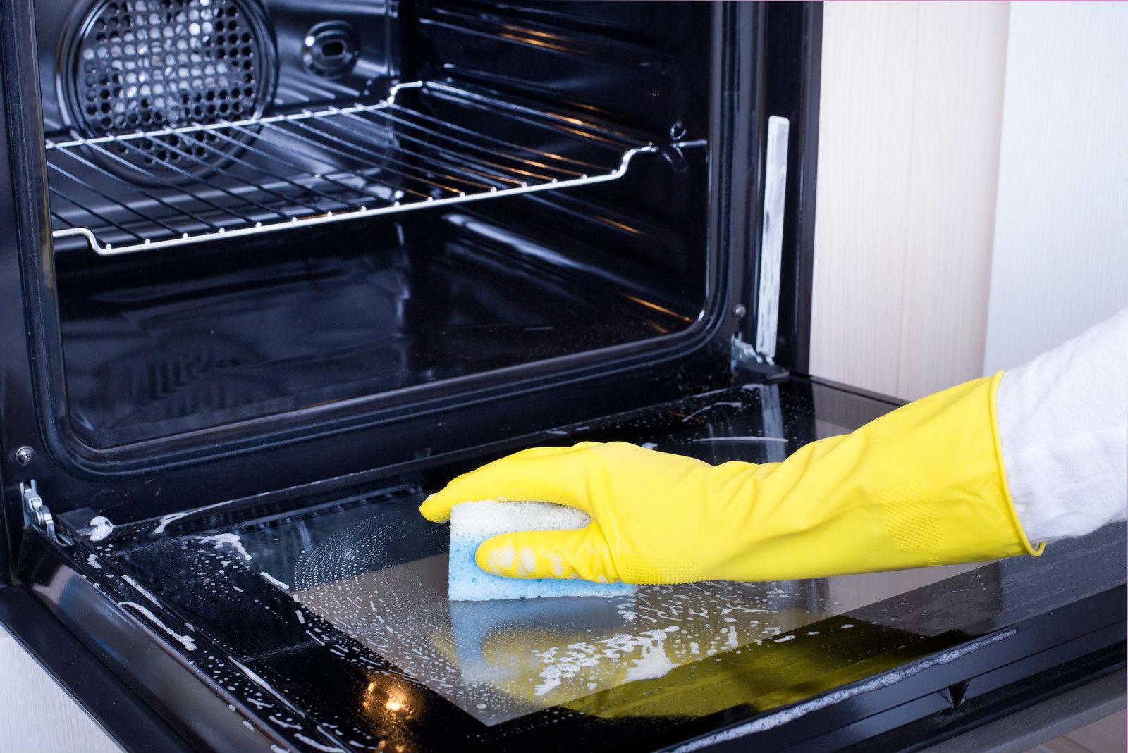 limpiar tu horno