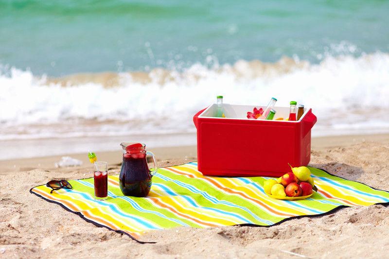 Comidas para la playa