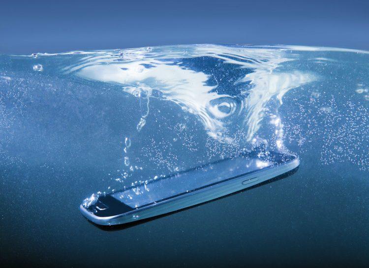 Móviles resistentes al agua