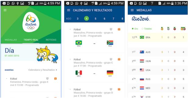 app rio 2016