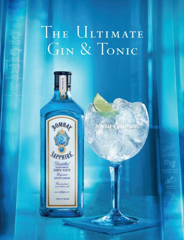 Bombay Sapphire & Tonic MAX