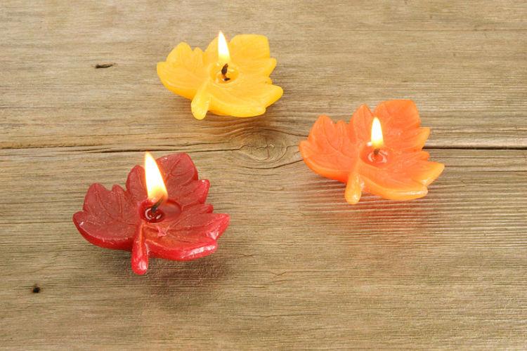 velas de hoja