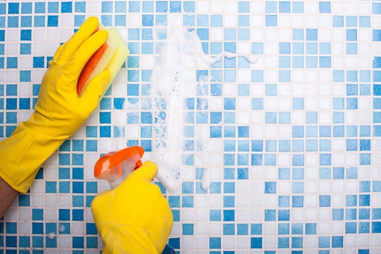limpiar azulejos