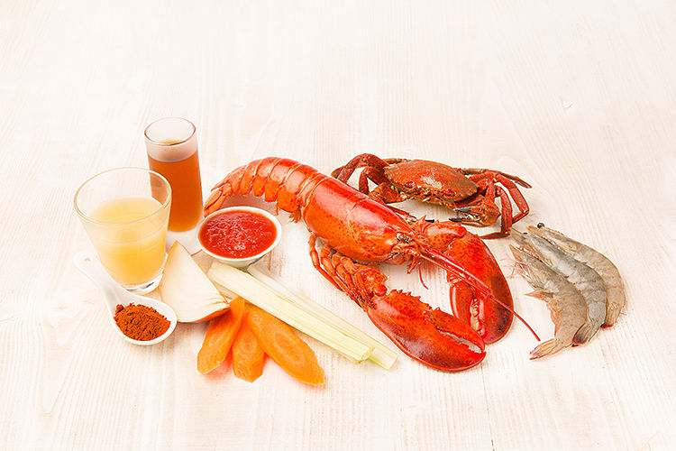 ingredientes crema de marisco